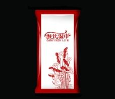餐饮湿巾图片