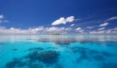 绿水 小岛图片