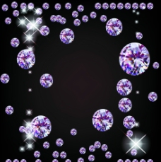 钻石紫色背景图片