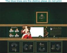出口杯子包装盒图片