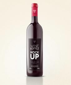 红酒瓶贴图片