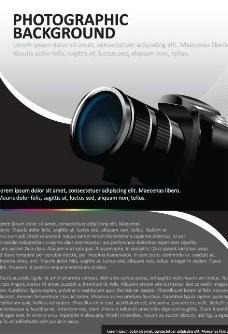 动感数码相机背景图片