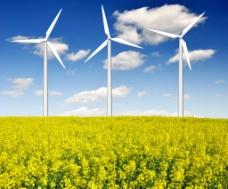 风车 太阳能图片