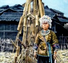 侗寨风情图片