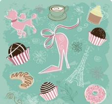甜品背景图片