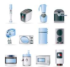 家用电器图标矢量图片