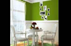 绿色餐厅图片