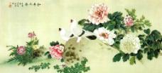 和平之春图片