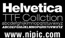 Helvetica Collection系列字体下载
