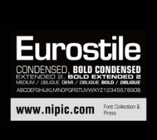 Eurostile系列字体下载