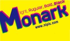 Monark系列字体下载