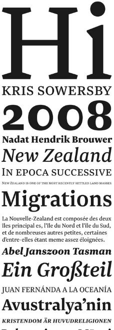 Newzald系列字体下载