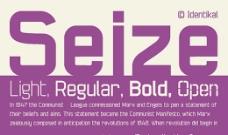 Seize系列字体下载