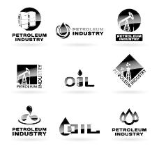 石油企业logo设计图片