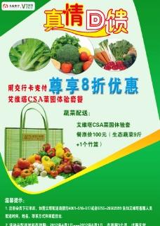 蔬菜优惠海报图片