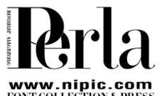 Perla系列字体下载
