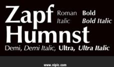 ZapfHumanist系列字体下载