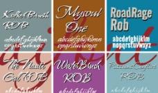 Robert系列字体下载