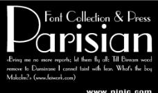 parisian系列字体下载