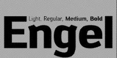 Engel系列字体下载