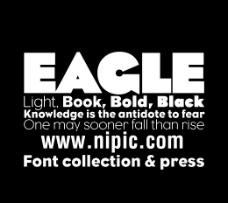 Eagle系列字体下载