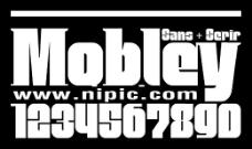 Mobley系列字体下载
