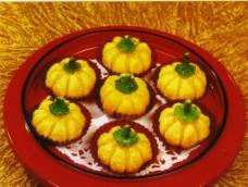 奶香南瓜饼图片