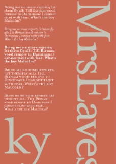 MrsEaves系列字体下载