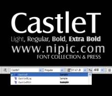 CastleT系列字体下载