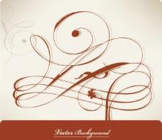 古典花纹线条图片
