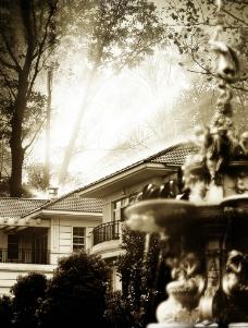 欧式森林别墅图片