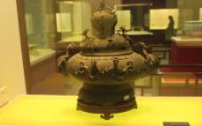 蟠龙青铜香炉图片