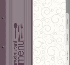 欧式花纹 欧式菜单封面设计图片