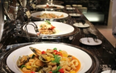 西餐自助美食图片