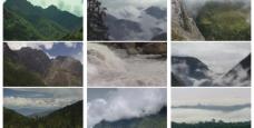 山脉素材图片