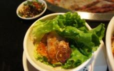生菜包肉图片