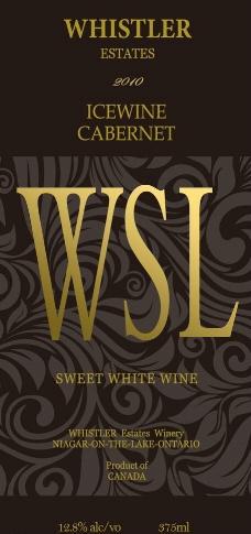 红酒酒标设计图片