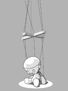 悲傷的木偶圖片