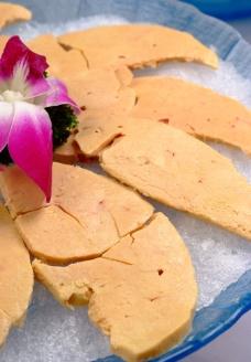 刺身鹅肝图片