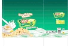 豆浆外箱包装图片