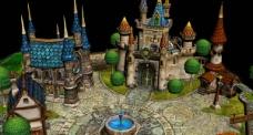 城堡模型建筑(解压提示其它压缩卷不存在)图片