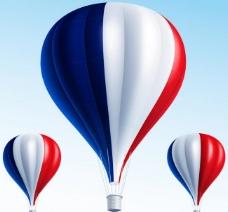 热气球矢量图片