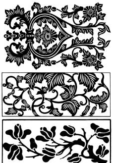 中國裝飾花紋圖案集圖片