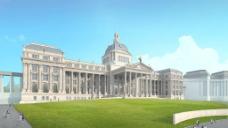 欧式风格建筑图片
