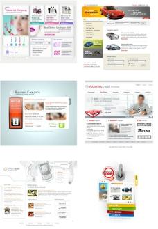 網頁模板圖片