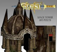 个性建筑3D模型图片
