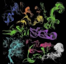 烟雾笔刷图片