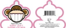 精美可爱小嘻猴吊卡图片