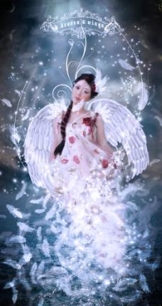 天使美女图片