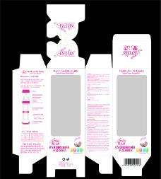 奶瓶包装盒子图片